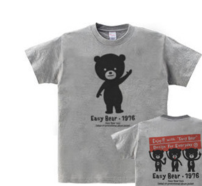イージー☆ベア  WS〜WM?S〜XL Tシャツ【受注生産品】
