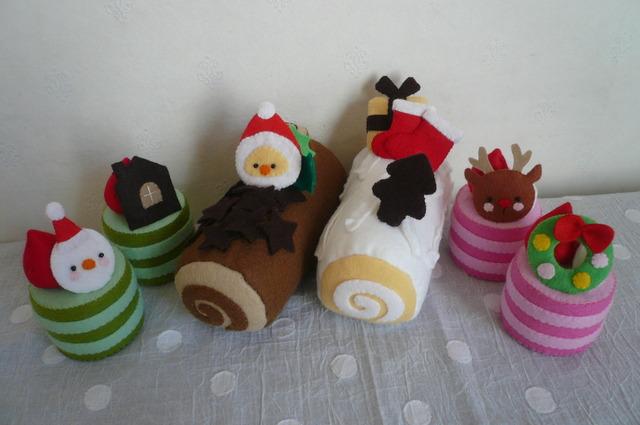 【送料無料】クリスマスケーキ6個セット
