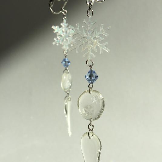 【再販リクエスト】きらきらのの結晶と雫と氷柱