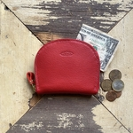 Semicircle Small wallet (red)