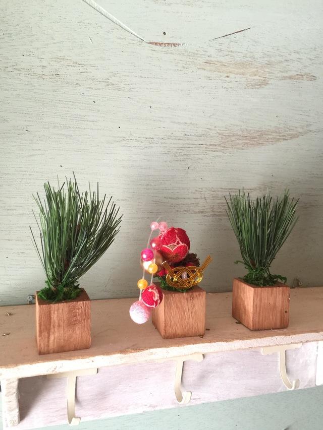 ☆小さな小さなちーさな植木鉢*お正月手毬