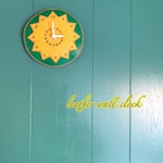 Leather wall clock 【時計】