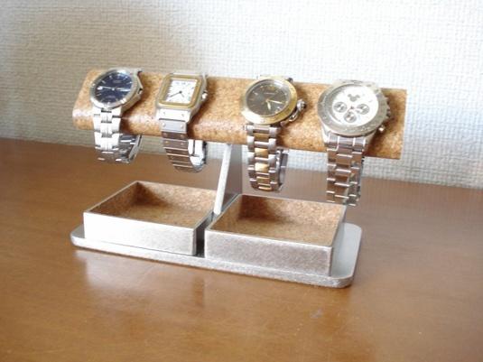 誕生日に! だ円ダブルでかいトレイ腕時計スタンド