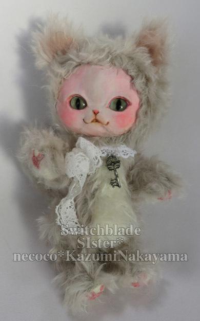 フェイスタイプドール肉球猫さん*ブルーアイ*オリジナル創作人形
