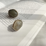 marble ore pierce(gray)