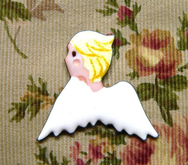 七宝焼の天使