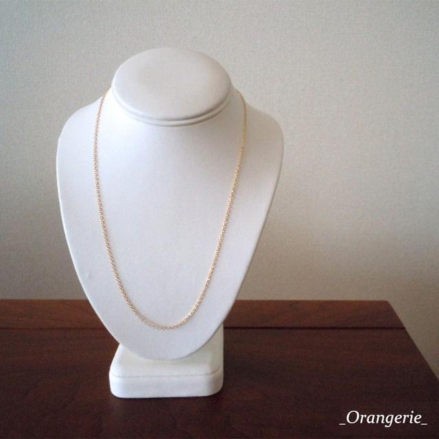 《50cm~55cm》ネックレス用 14kgfチェーン単品