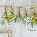 birch garland ~yellow~