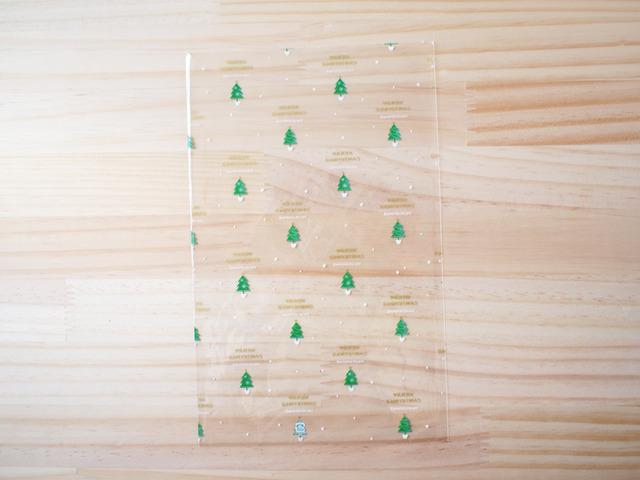 クリスマスツリー透明袋、Lサイズ