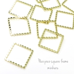 10pcs) Pocopoco square frame parts