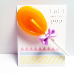 Lollipop/mandarinorange
