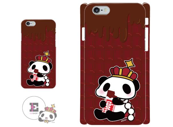 iphoneケース。王様ぱんだ。チョコ。