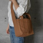 PARK SHOULDER TOTE BAG(モカ)