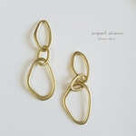 【2pcs】matte gold  import charm
