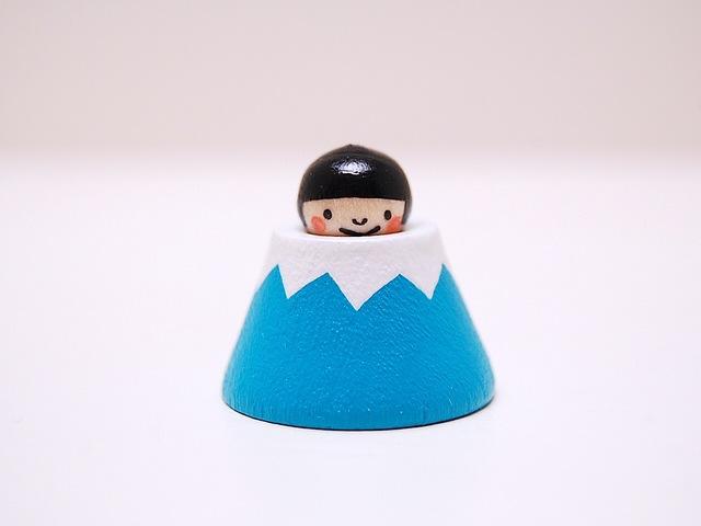 飛び出す*富士山こけし*金太郎*[7]