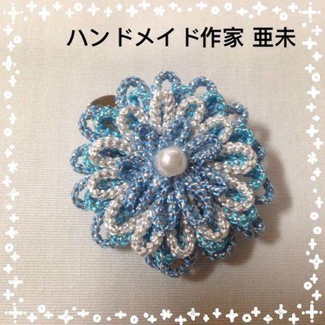 新春クリアランスセール★3 2wayのブローチピン(ブルー)