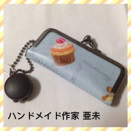 23 印鑑ケース(ブルー・ケーキ)