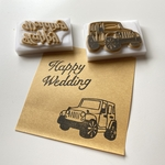 【セット】Wedding×jeep