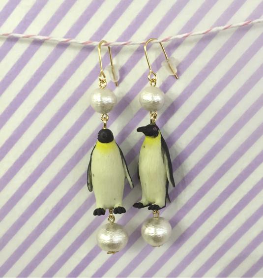 【SALE】ペンギンのピアス