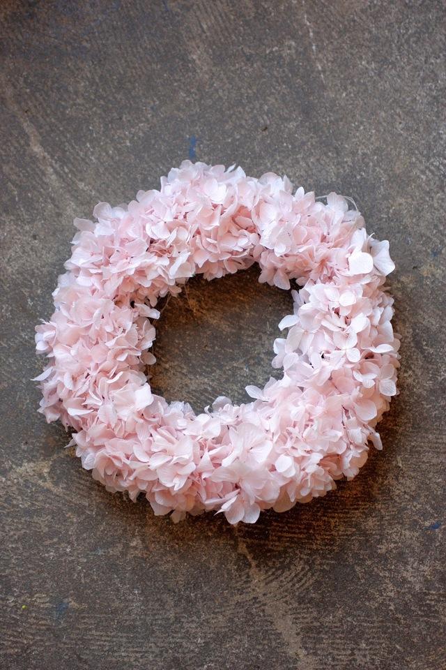 Preserved��Flower Wreath sakura pink