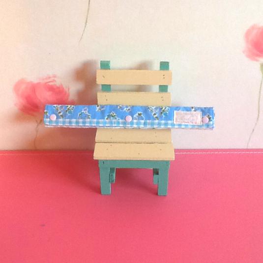 水筒紐クッションカバー☆小花柄ストライプ チェック