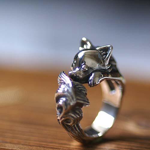 Longhair Chihuahua ring