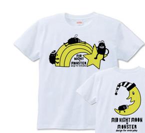 ミッドナイト×モンスター S〜XL  Tシャツ 【受注生産品】