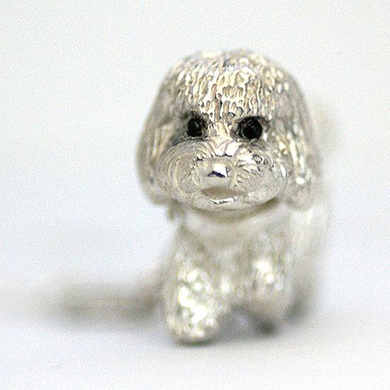 Poodle Charm Pendant
