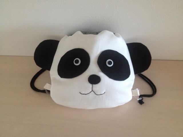 【再発売♪】赤ちゃんリュック《パンダさん》