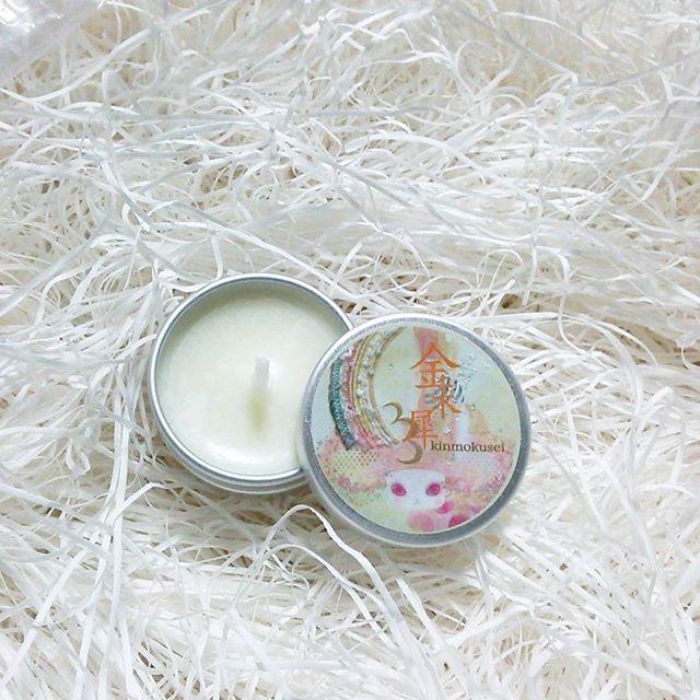 ミニ缶ロウソク−金木犀
