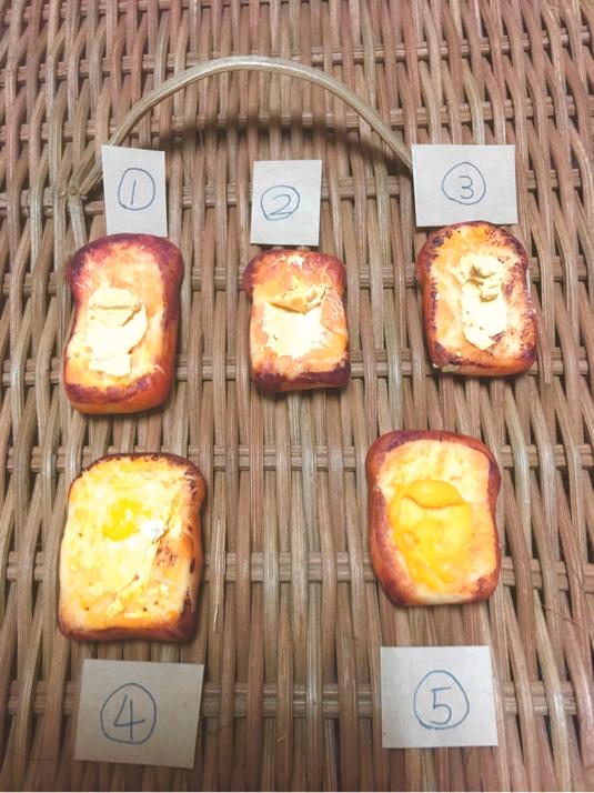 昔ながらのちょっと焼きすぎなパンマグネット