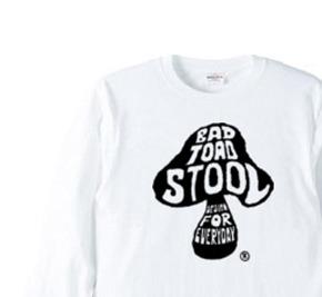 きのこ   長袖Tシャツ【受注生産品】