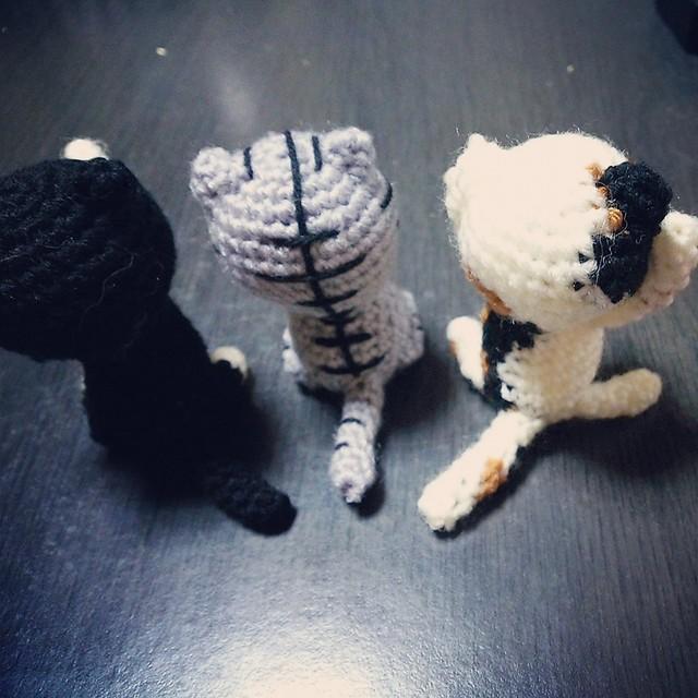 【特別オーダー】にゃん 編みぐるみ
