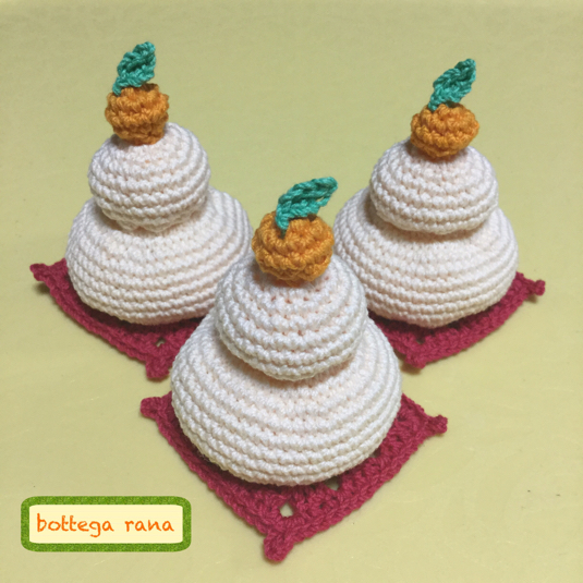 編み鏡餅(送料無料)
