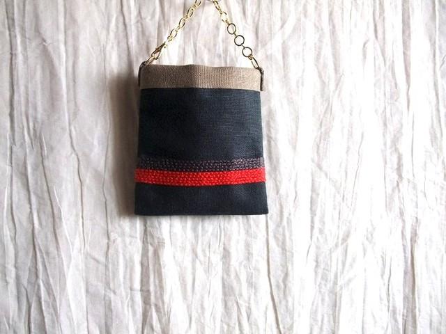 itoiro bag charm pouch (b&r)