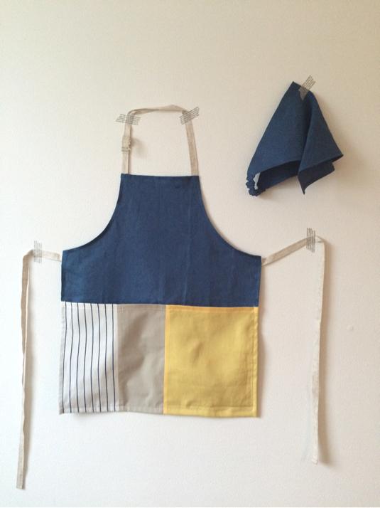 エプロン・三角巾セット