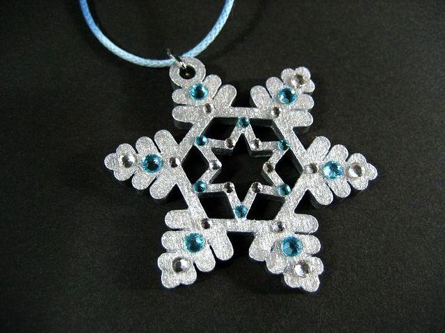 雪の結晶ウッドネックレス・シルバーツリー_443 s2 15p