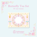 【Butterfly Tea Set-plate-】メモ