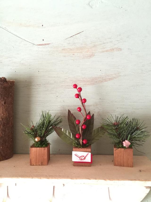 ☆小さな小さなちーさな植木鉢*お正月南天梅ちゃん