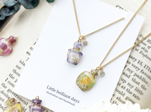 Perfume bottle necklace|香水瓶のネックレス