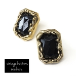 売り切れblack(2pcs)vintage buttons