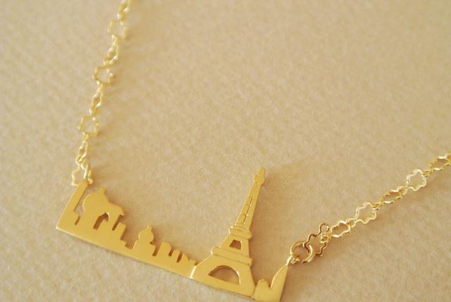 Paris の星空・ネックレス
