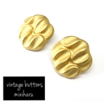 gold(2pcs)vintage buttons