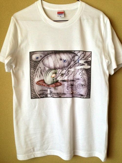 【オリジナルTシャツ】 煙管蛙