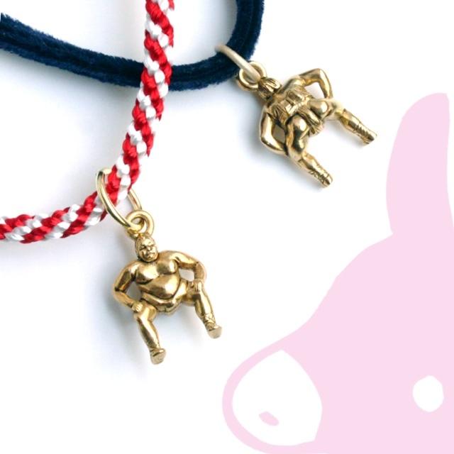 どすこい力士ペンダント【紐がえらべる】ピンクろば☆☆☆