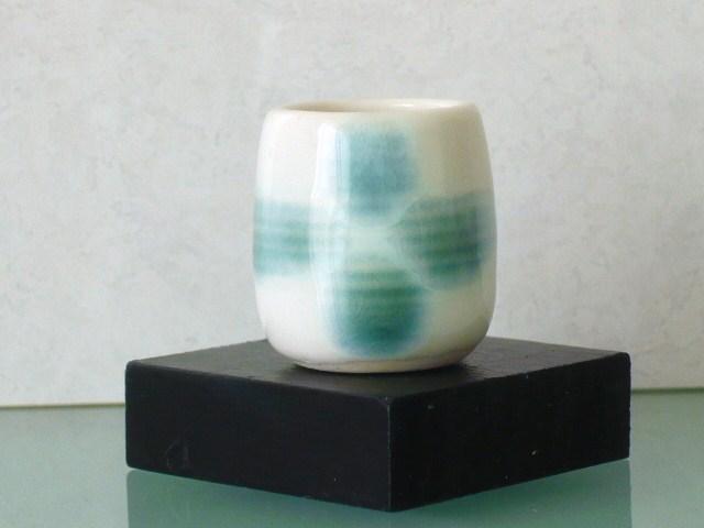 ミニチュア陶器☆花入 青花