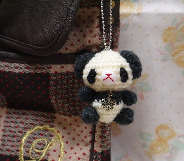 【moon-star様オーダー分】パンダさんのバックチャーム