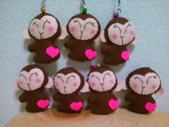 ピンク☆モンキーちゃん♪
