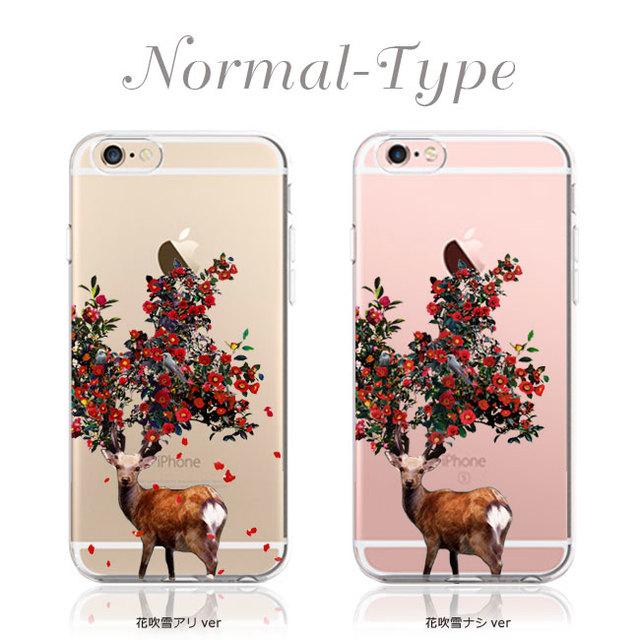iPhoneケース 鹿椿