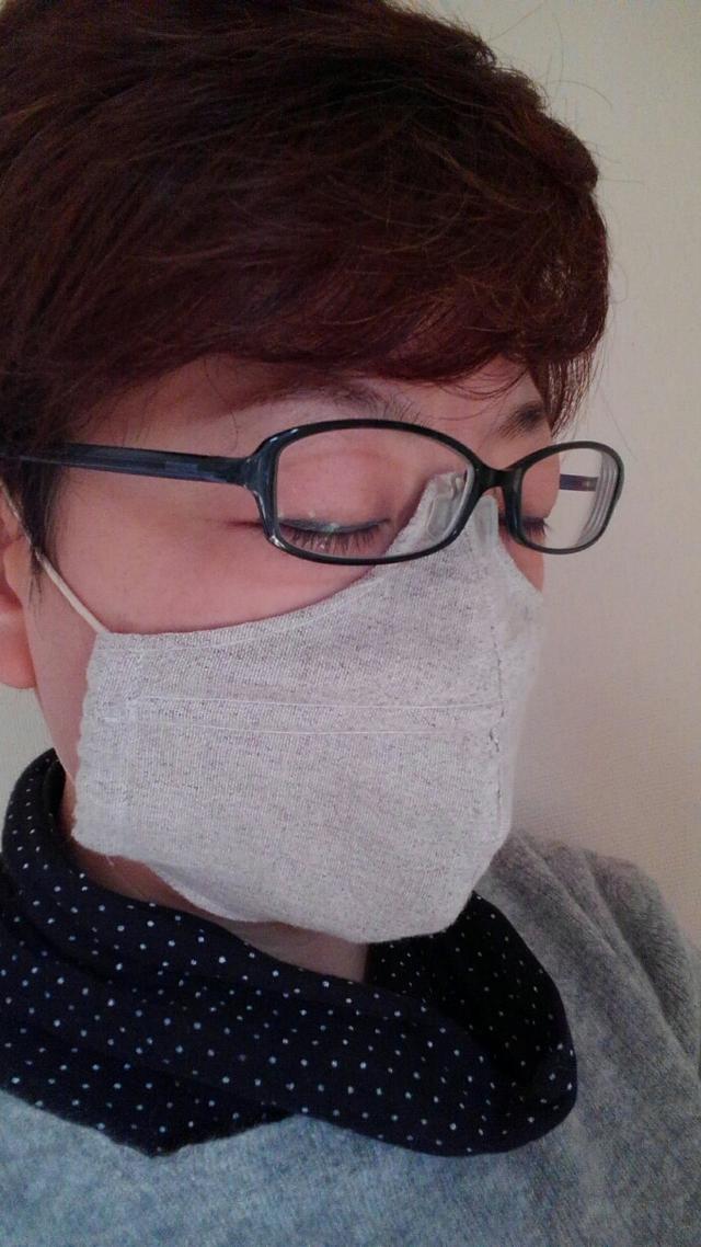 めがねが曇らないマスク ハンドメイドマーケット Minne